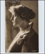 Adel & Monarchie Prinzessin August Wilhelm v. Preussen Echtfoto-AK ~1905/10