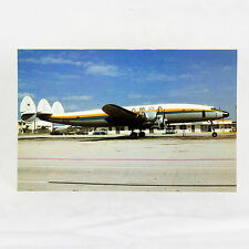 Amsa - Lockheed Constellation - Hi 515 - Flugzeug Postkarte - Top Qualität