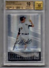 2007 Elite Matt Wieters Autographed Rookie 174/799 Graded BGS 10 with 10 Auto