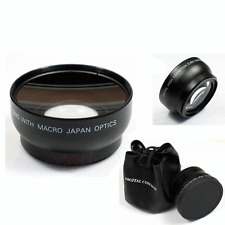 58mm 0.45X Wide Angle Macro Lens for Canon 1100D 700D 600D 550D 650D 7D 5D 18-55