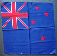 NEW ZEALAND Flag BANDANNA Handkerchief Maori KIWI National Flag Cotton Headscarf