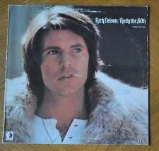 RICK RICKY NELSON SINGER ACTOR SIGNED RECORD JACKET AUTOGRAPH JSA AUTHENTICATED