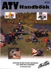 Chilton's ATV HANDBOOK, Engine Maintenance, Troubleshooting NIP