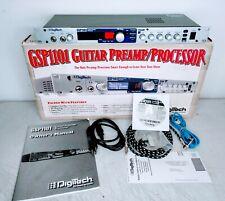 DIGITECH GSP1101 GUITAR PRE AMP / PROCESSOR RACK MOUNT UNIT NEAR MINT CONDITION