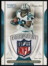 2011 Jonathan Stewart National Treasures NFL Logo Shield Patch 1/1 Panthers