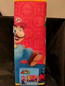 "Super Mario Foam Bathroom Mat New 2019 Official Nintendo Licensed 20""x30"" NEW"