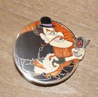 WDI Villain Profile Bowler Hat Guy Robinsons LE 250 Disney Imagineering Pin NEW
