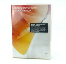 Adobe Creative Suite 3 Design Premium CS3 Upgrade 3.3 For Mac w/ Serial Numbers