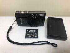 Canon PowerShot ELPH 190 IS 20.0 MP Digital Camera - Black