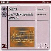FRIEDRICH GULDA - J.S. BACH-DAS WOHLTEMPERIERTE KLAVIER 2; 2 CD SOLO PIANO NEW+