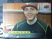 UPPER DECK 2019-2020 SERIES ONE PATRICK KANE CANVAS HOCKEY CARD C-50