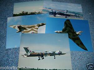 VULCAN BOMBER XH558 SET OF PHOTOGRAPHS PHOTOGRAPHS VULCAN XH558
