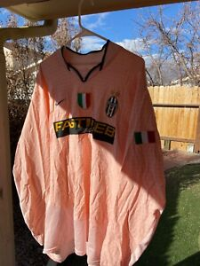 Juventus 2003-2004 Away Long Sleeve jersey  Scudetto Patch/Badge
