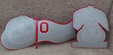 Ohio State University Buckeyes - Set of 3 Paper Cut-Outs