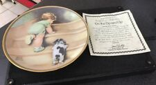 Hamilton Collection Bessie Pease Guttman Collector Plate On The Up And Up Child