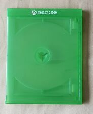 3 x Genuine Xbox One Official Green Game Cases