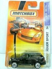 Matchbox 2007 MBX Metal Range Rover Sport Diecast Car New In Package Nice!