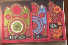 Eric Church 2017 Poster Set Nashville Tn Bridgestone Arena Holdin My Own Tour