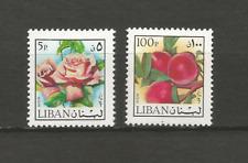 Liban 1973 poste aérienne Y&T N°558 et 559 2 timbres non oblitérés /T4435