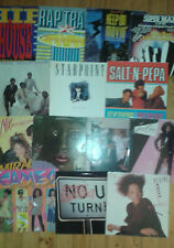 Schallplatten-Sammlung mit 14 LPs , 1 Maxi - SOUL, BLACK MUSIC, RAP, DANCE- RAR