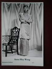 POSTCARD ACTRESS - ANNA MAY WONG -2