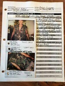 UNIVERSAL SOLDIER JEAN CLAUDE VAN DAMME Original Photos, DOLPH LUNDGREN, SCOTT