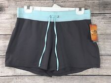 NWT Women's Champion Dry Stretch Short Grayblue Med Stretch Shorts BX6