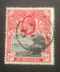 ST HELENA 19112-1916 MCCA SG73a USED CAT £17