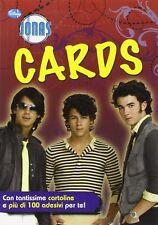Cards. Jonas Brothers. Con adesivi - Disney Libri - Libro nuovo in offerta!