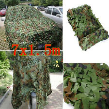 23x5FT Woodland Camouflage Net Shooting Hide Army Hunting Camo Netting Hide NEW