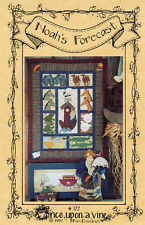 """©1997 Once Upon a Vine Pattern # 122 """"Noah's Forecast"""" Weatherman Doll + Quilt"""