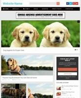PET SUPPLIES STORE - Business Website For Sale Mobile Friendly Responsive Design