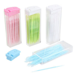 50pcs Toothpick Disposable Teeth Oral Care Cleaning No Smell Randomly
