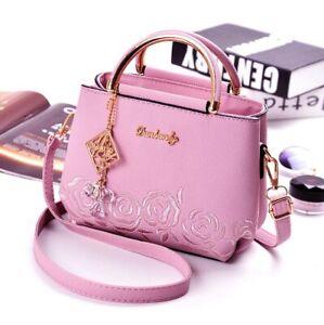 Women Bags Crossbody Shoulder Leather Handbags Tote Bag Messenger Lady Satchel