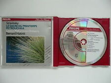 Haitink conducts Stravinsky Rite of Spring & Petrouchka LPO Philips 420 491 CD