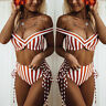 2019 Sexy High Waist Bikini Set Off Shoulder Push Up Bathers For Beachwear