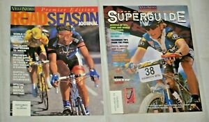 Velo-News Assorted Bicycle, MTB, + Road Magazine's 1995 - 2000 For USA Charity!