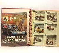 Watkins Glen 1971 Race Program with 18 Formula 1 Driver Autographs RARE + Photos