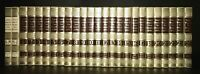 Funk and Wagnalls New Encyclopedia Gilded Incomplete Set 25 Volumes (6 Missing)