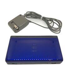 Nintendo DS Lite Cobalt Blue Handheld System OEM Charger Stylus GBA Compatible