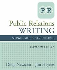 Public Relations Writing: Strategies & Structures by Doug Newsom (English) Paper