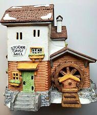 Department 56 Alpine Village Series- Stoder Grist Mill #5953-6 Retired 💖