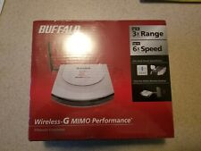 Buffalo Wireless-G Mimo Performance Router NEW-SEALED!