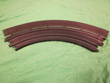 Wallboards #2 with silver chrome powdercoat finish for HO scale slot car tracks