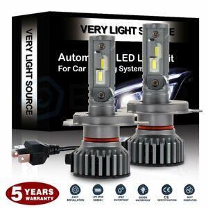 H4 HB2 CREE 80W 9600LM LED Headlight Kit 9003 White Light High Power