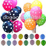 "12"" Polka Dot Latex Balloon Celebration Birthday Wedding Party Home Decors"