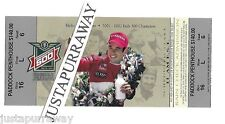 2003 Indianapolis Indy 500 Ticket Stub.