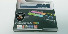 G.SKILL Trident Z RGB 16GB (2 x 8GB)  DDR4 3600 MHZ F4-3600C18D-16GTZRX  FOR AMD