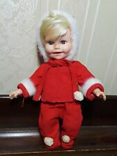 Vintage 1950'S Fifties 8 In. Doll Patent Pending - Christmas Snowflake, Clean