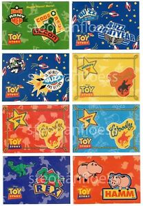 1995 Skybox Disney Toy Story 1 Badge Stickers You Pick the Card Finish Your Set